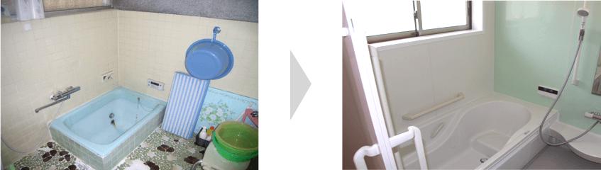 浴室リフォームのイメージ